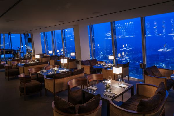 Image gallery oblix restaurant shard for Restaurants at the shard