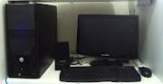 . Monitor LCD 19 Polegadas; Estabilizador; Caixa de Som; Mouse e Teclado .
