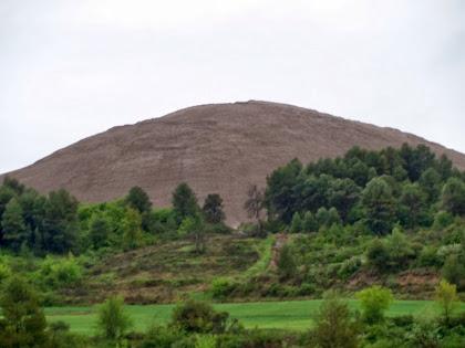 El runam del Cogulló des de les Granges del Celdoni