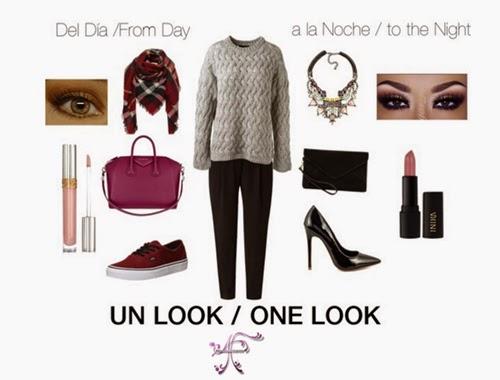 Ideas para trasformar un look de día a look de noche