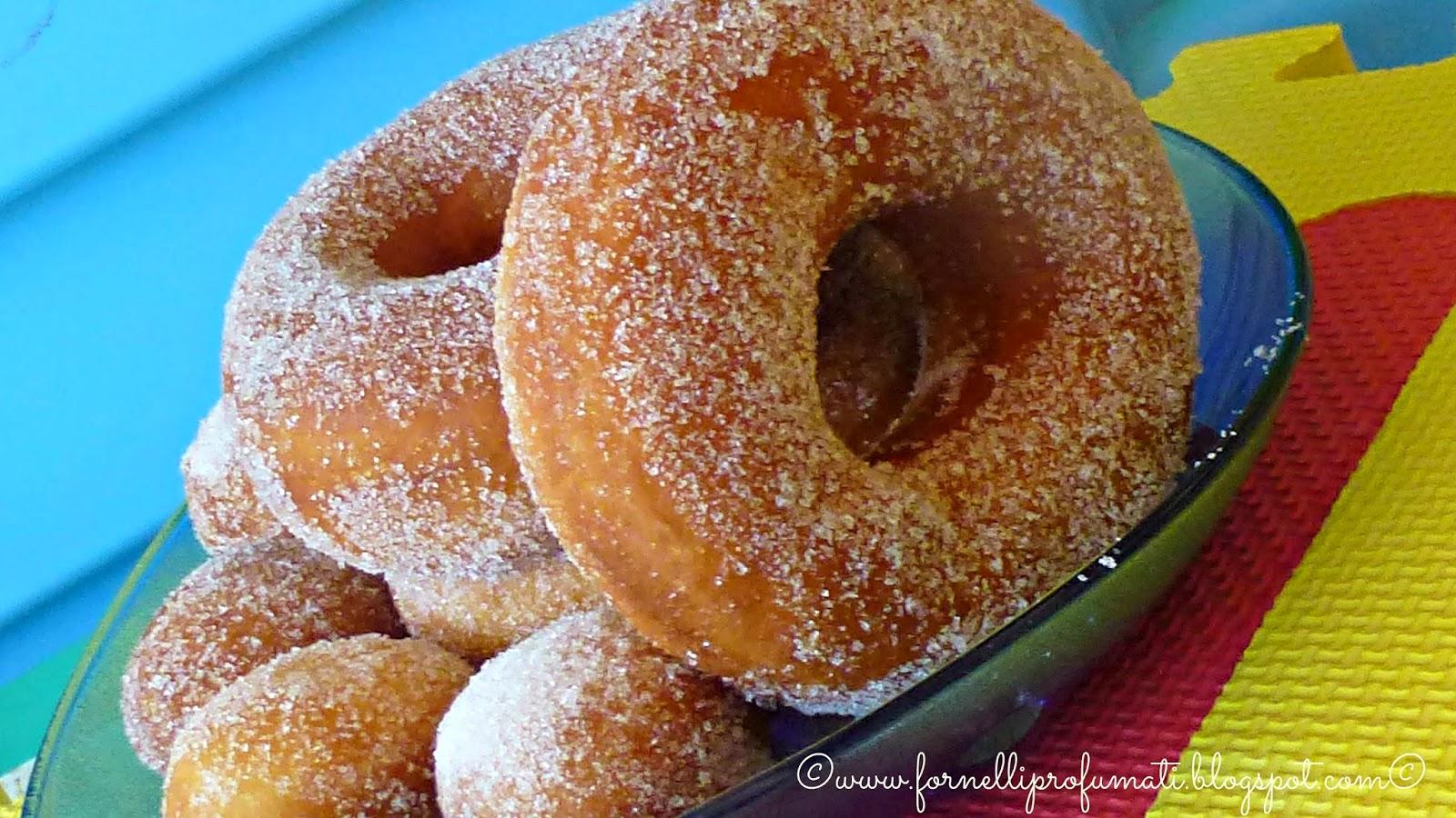 ciambelline o donuts?? ci sono per tutti i gusti