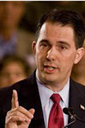 Governor Scott Walker. of Wisconsin