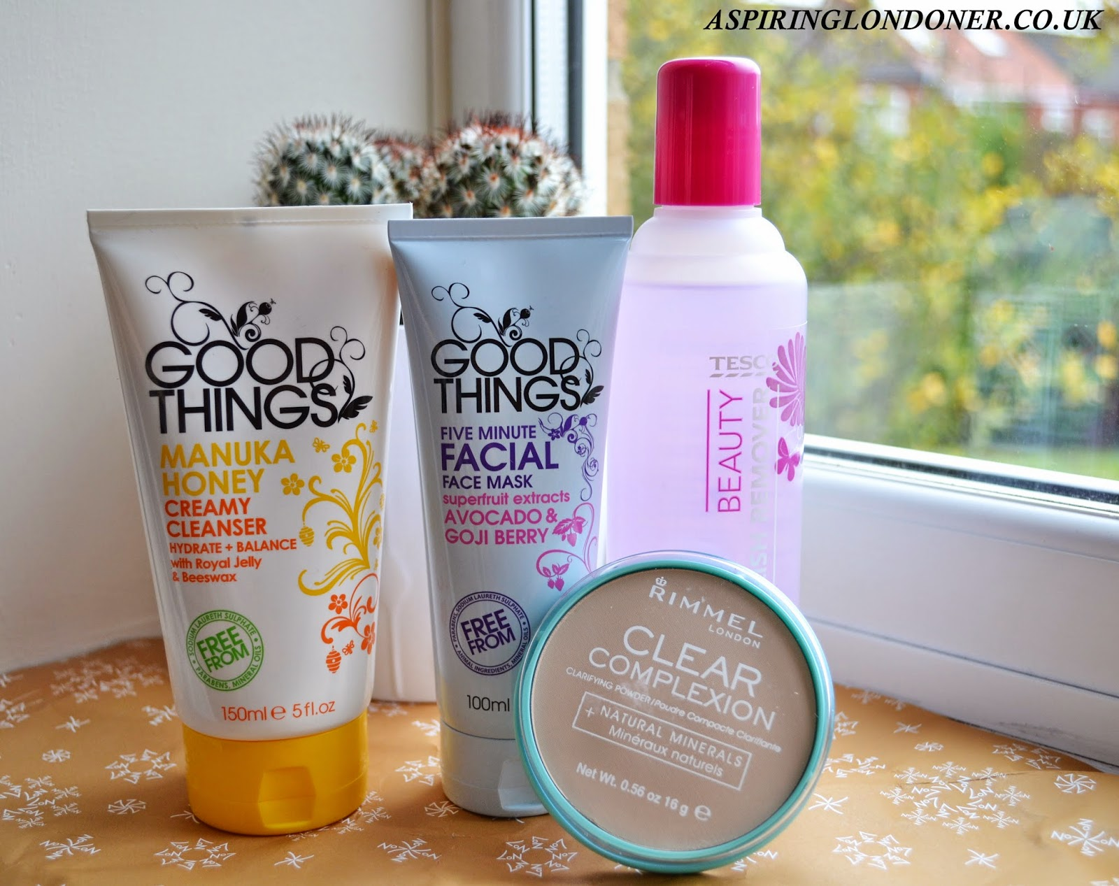 #TescoBeautyHaul ft. Good Things Skincare, Rimmel Clear Complexion Stay Matte Powder - Aspiring Londoner