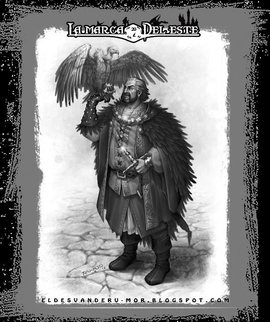 Ilustración rol La Marca del Este RU-MOR