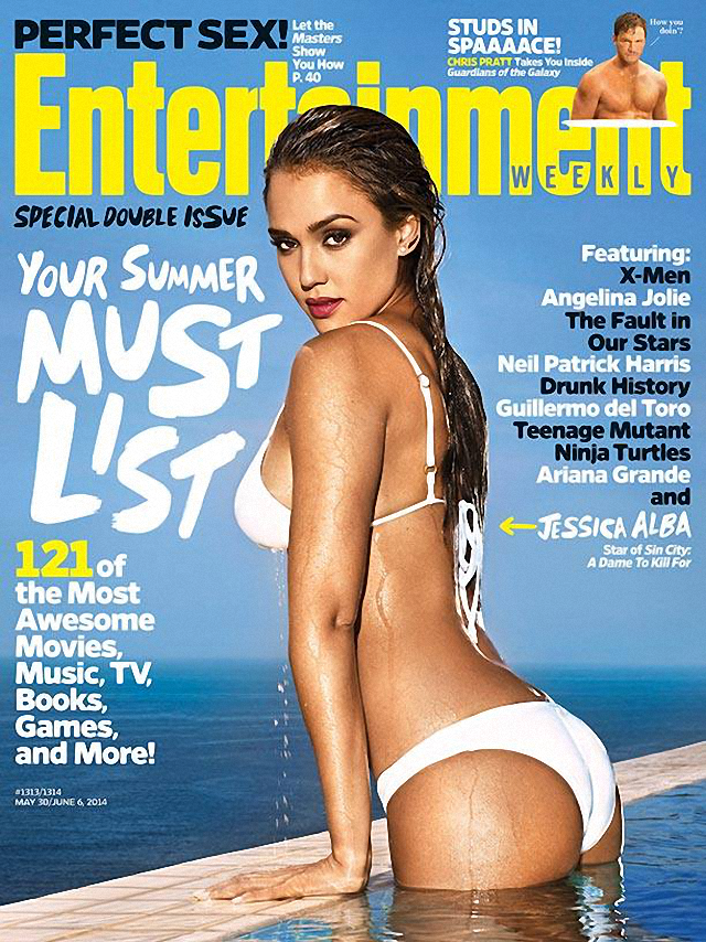 Jessica Alba en Entertainment Weekly