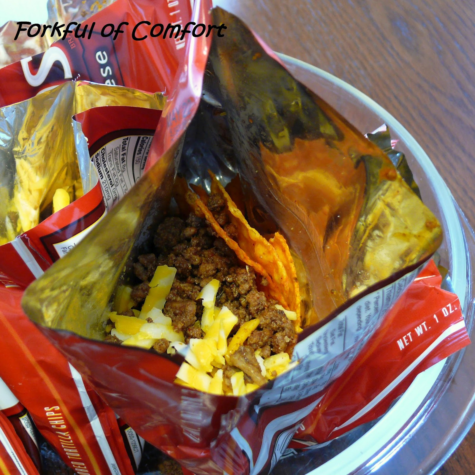Forkful of Comfort: Walking Tacos