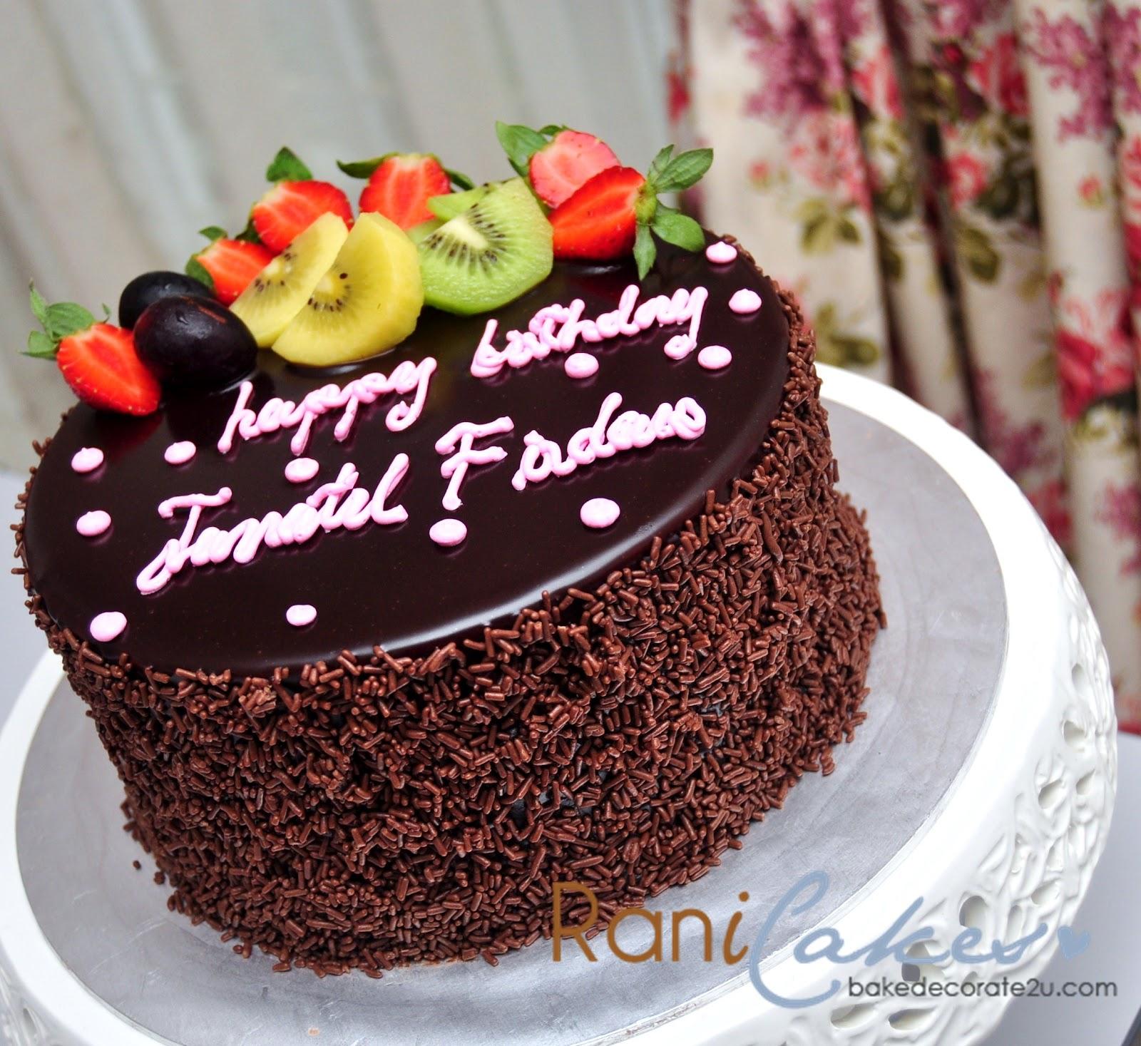 Cake Images Rani : Pin Rani Canglun Delights Birthday Cake Cake on Pinterest