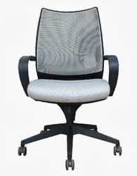 Sweetwater Gray Mesh Office Chair by Woostock