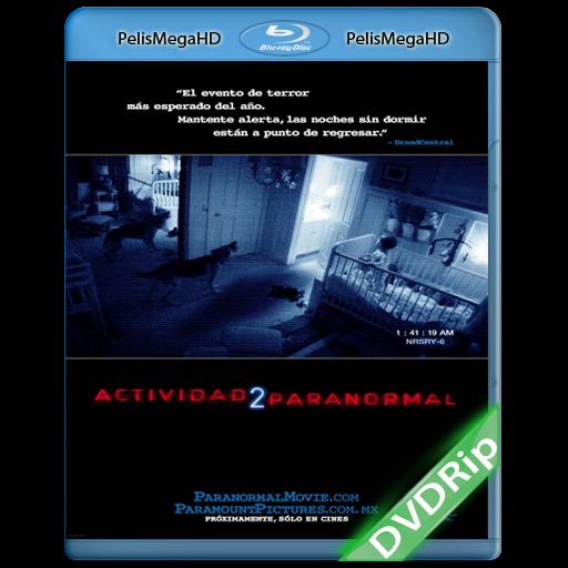 Actividad Paranormal 2 (2010) DVDRip Español Latino