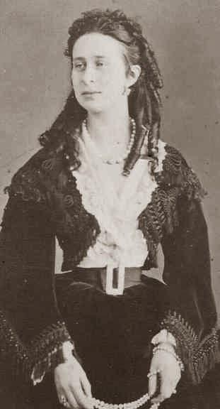 Grande-duchesse Alexandra Yossipovna de Russie, née princesse de Saxe-Altenbourg 1830-1911