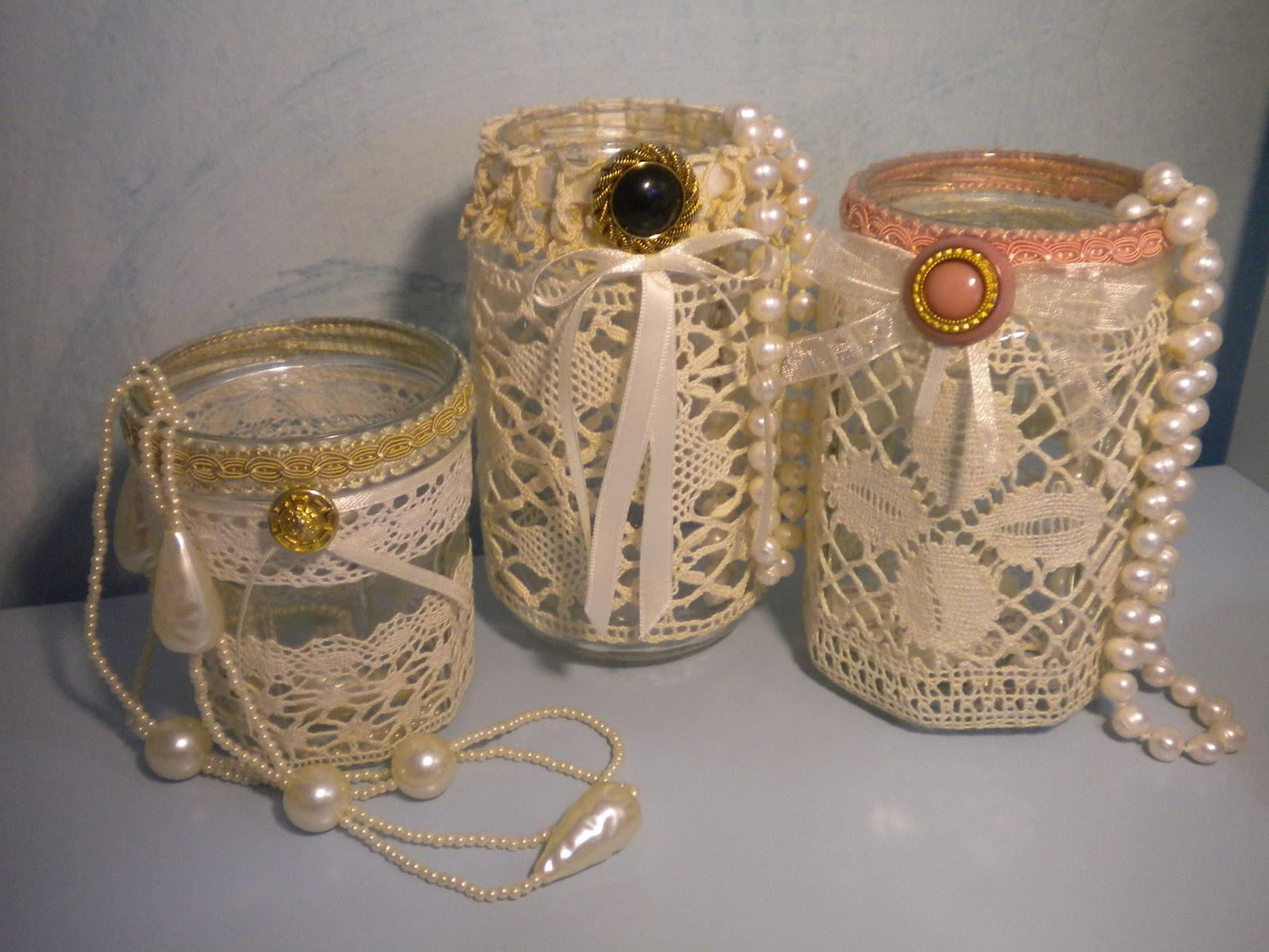 Ambradoro cose con l 39 anima buon 2013 - Vasetti di vetro decorati ...