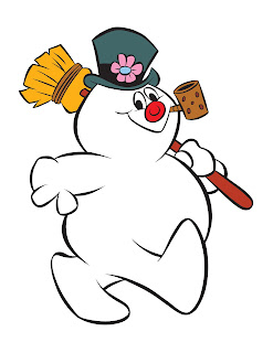 Re do quot character art inking of frosty the snowman for a rankin bass