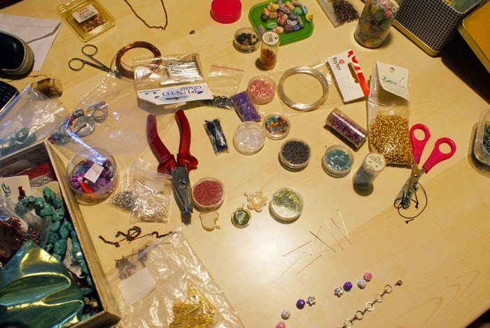 handmade jewelry workshop diy