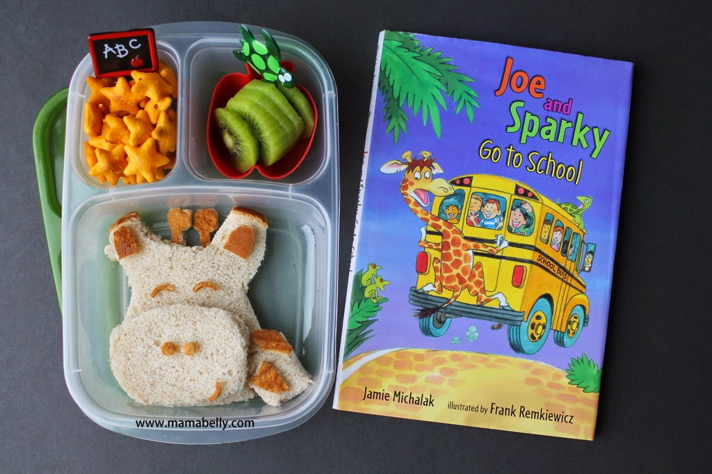 Literary Lunch for School: JOE AND SPARKY GO TO SCHOOL - mamabelly.com