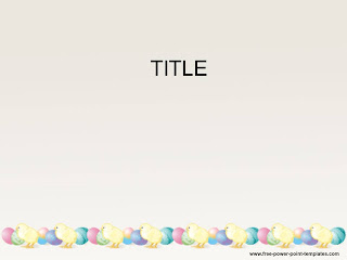 Free download Easter PowerPoint template 002A
