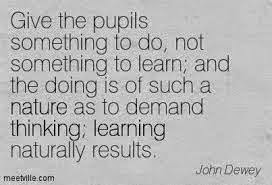 Active Learning, John Dewey