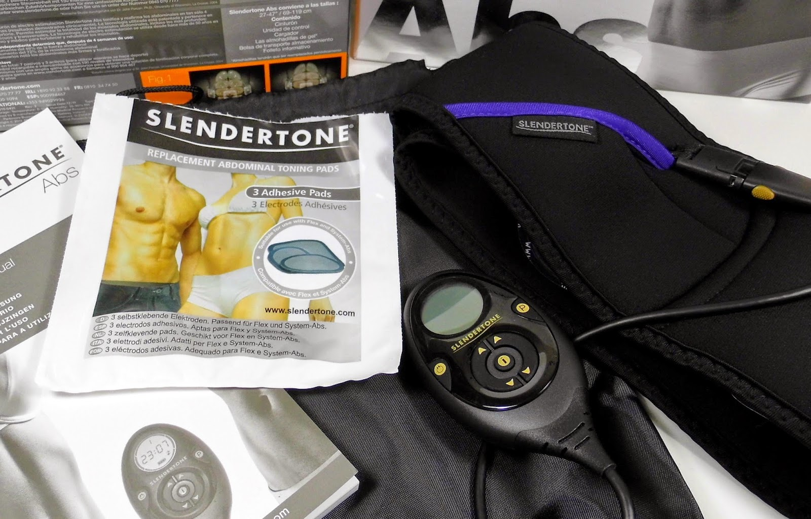 slendertone premium abs belt female and male chocolate lipstick. Black Bedroom Furniture Sets. Home Design Ideas