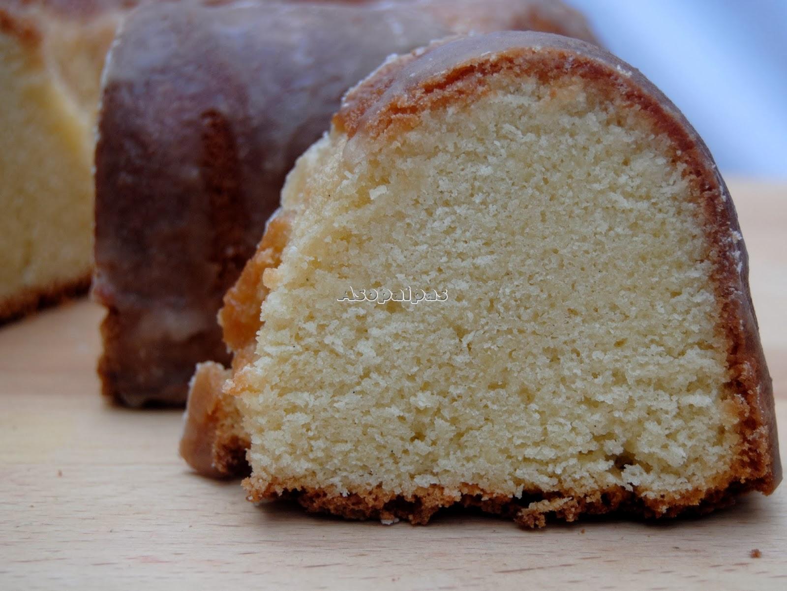 Pound Cake de Coco y Buttermilk (Coconut Buttermilk Pound Cake ...