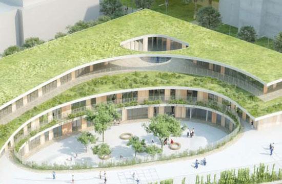 Landscape architecture inspiration mikou design studio for School landscape design