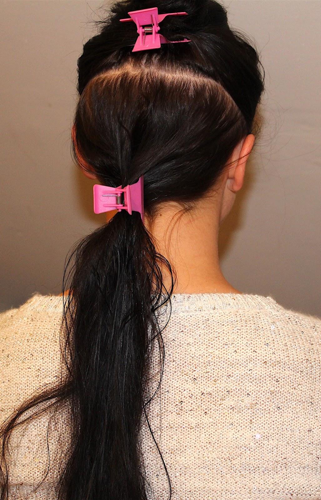 Diy Hair Care Tutorial 7 Steps On How I Cut My Long Hair Ashley Riley