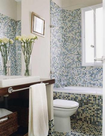 Muebles y Decoración de Interiores: Cuartos de baño con ...