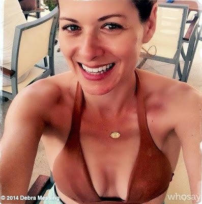 Debra Messing boobs cute and hot