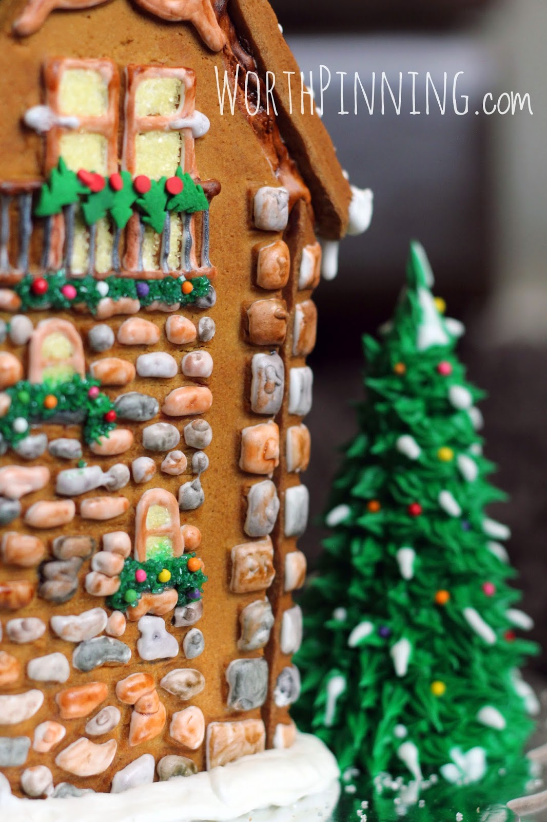Trend My gingerbread house sold last year at a charity auction This new chateau will stay at my house