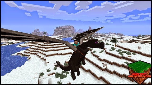 Dragon Mounts Mod fly