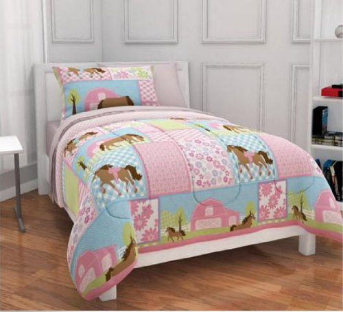 total fab horse themed comforter sets for girls and teens