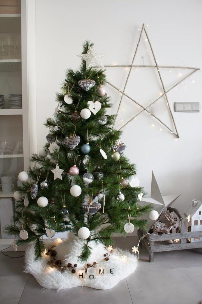 Boho deco chic quedamos en casa por navidad for Decoracion casa navidad