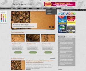 Deluxury WordPress Theme