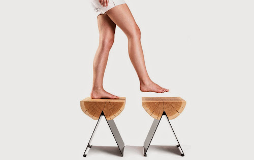 1/2 Stool by Witaminad