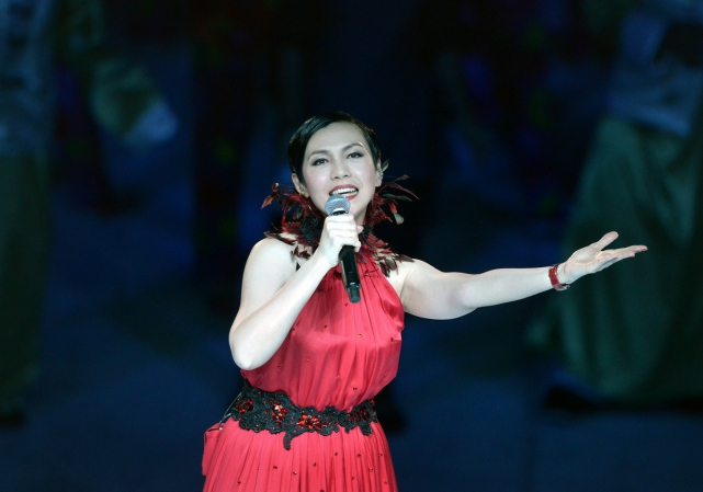 Singer Kit Chan performed the NDP classic