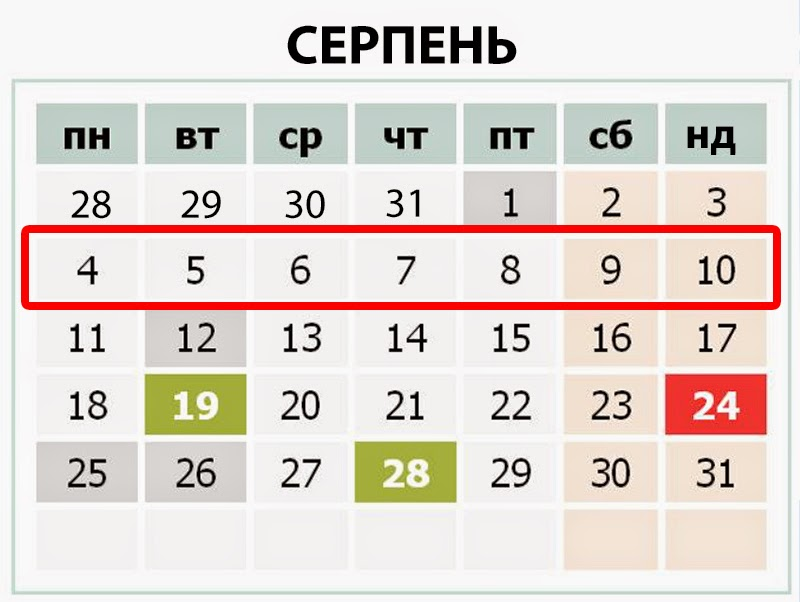 Стислий огляд подій в Україні другого тижня серпня 2014р