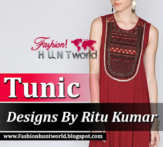 Indian Stylish Tunics By Label Ritu Kumar