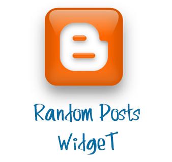 Random posts widget