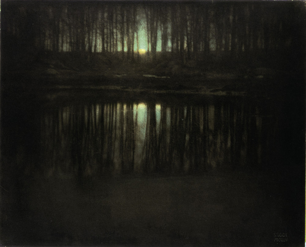 The Pond Moonlight, 1904. Edward Steichen. Fotografía | Photography