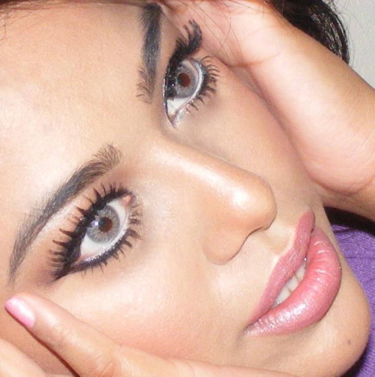 makeup light pink. soft light pink makeup tutorial makeup light pink