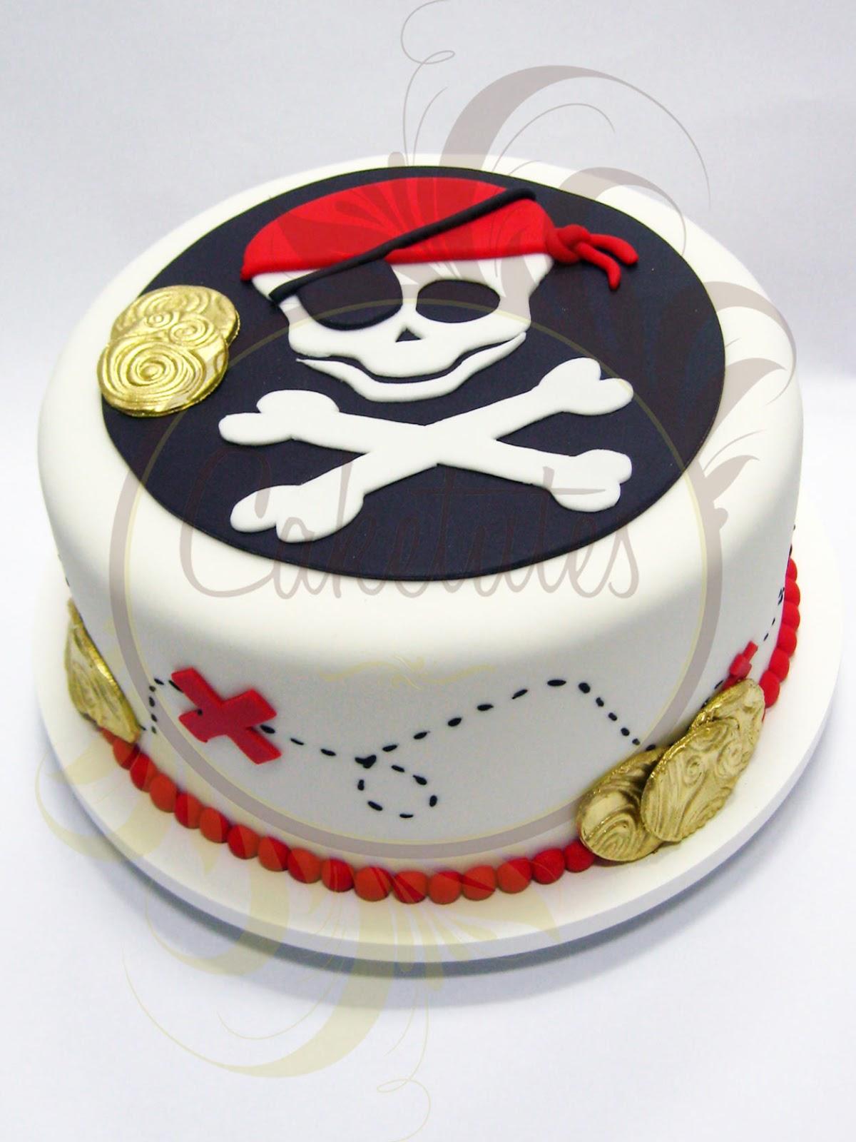 Caketutes Cake Designer Bolo Pirata