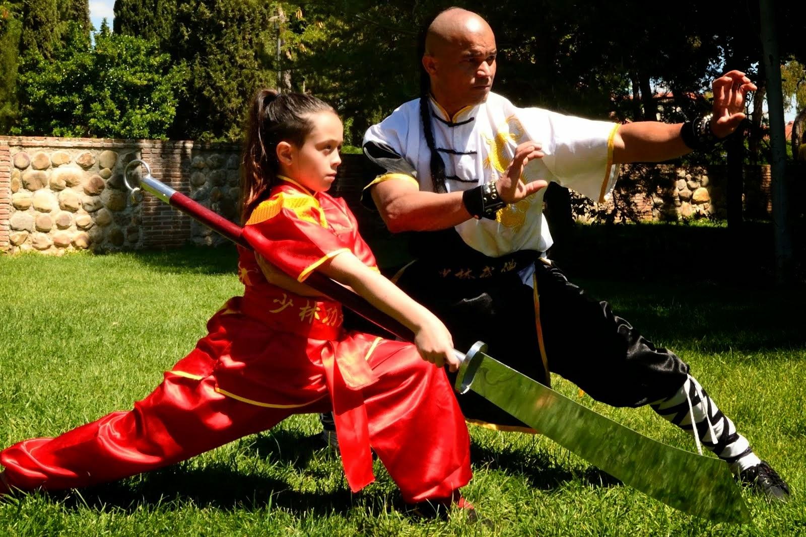Kung fu Clases entrenamiento