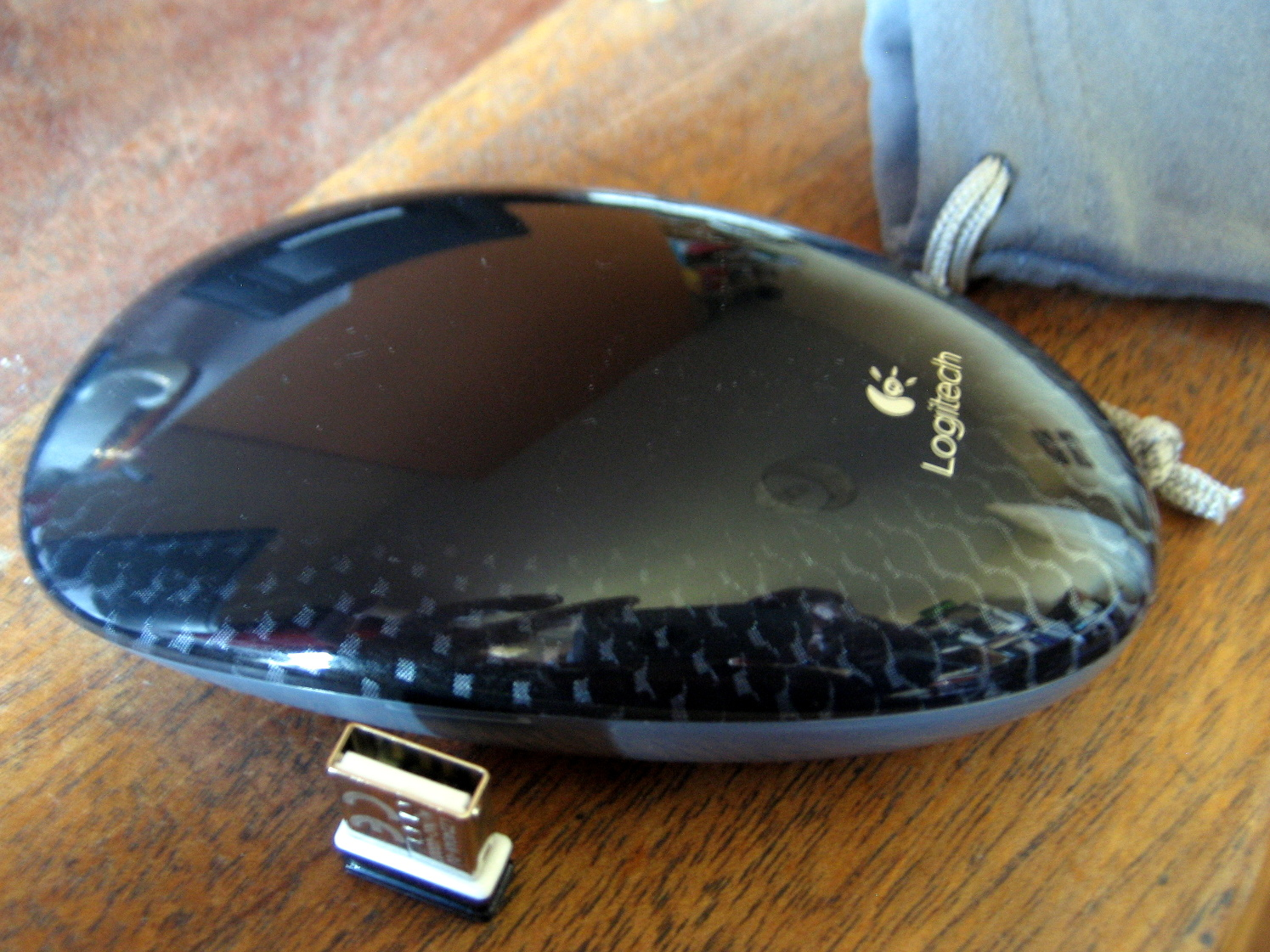 Touch Mouse Logitech Wi-Fi Mouse no wheel mouse review T620