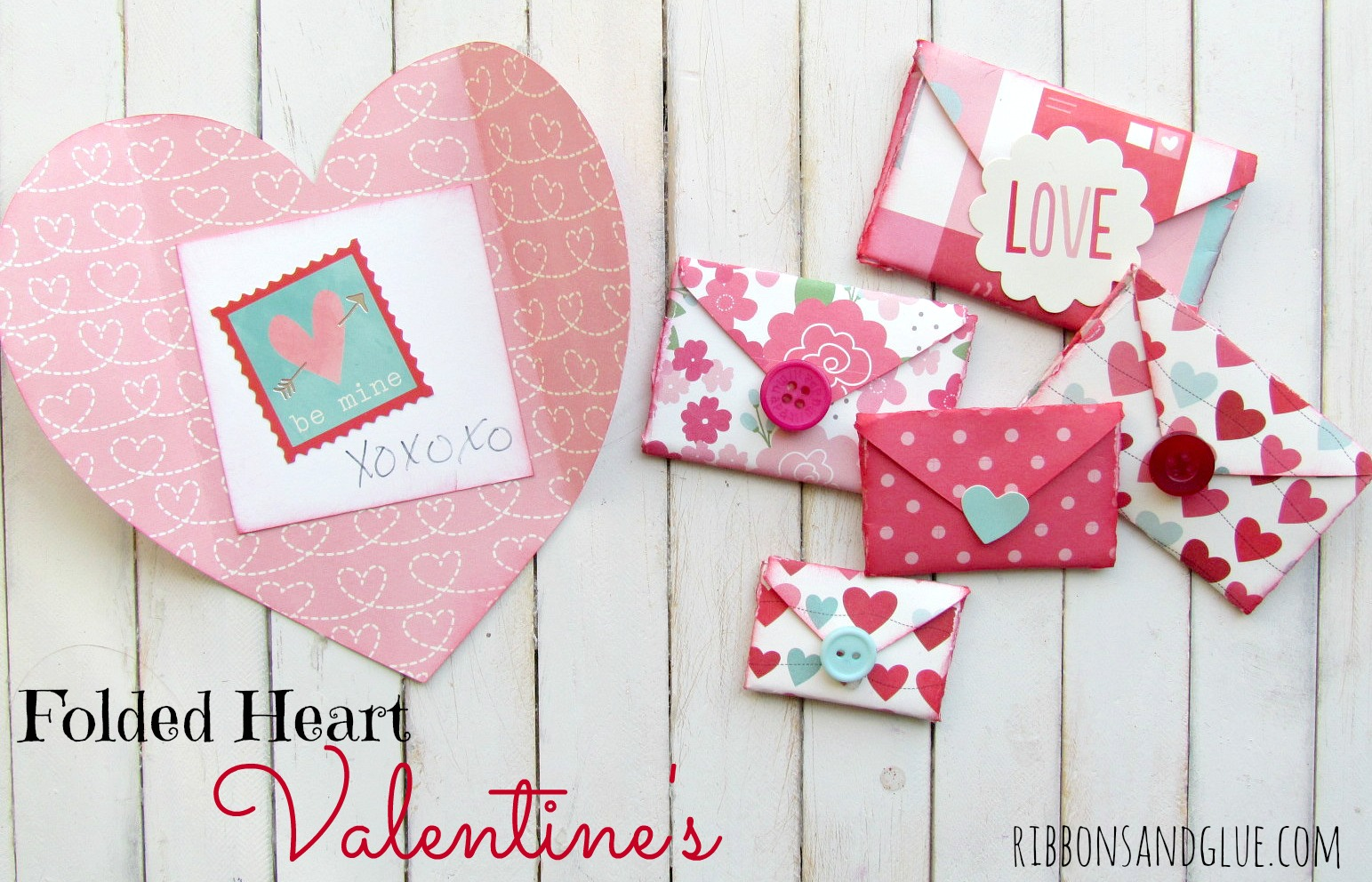 Folded Heart Valentine's