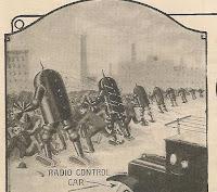 Robot policia del año 1924 - Radio Police Automaton