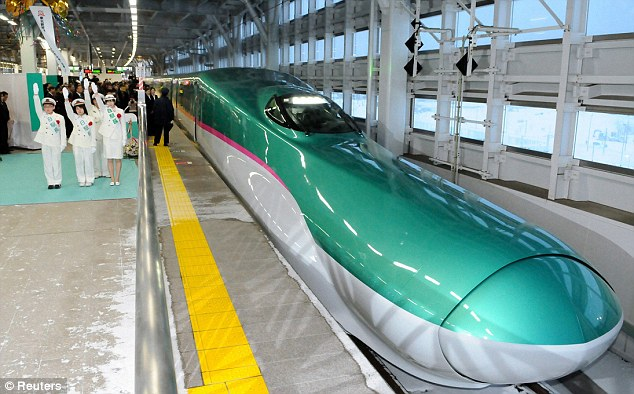 Hayabusa, Japanese Latest Bullet Train