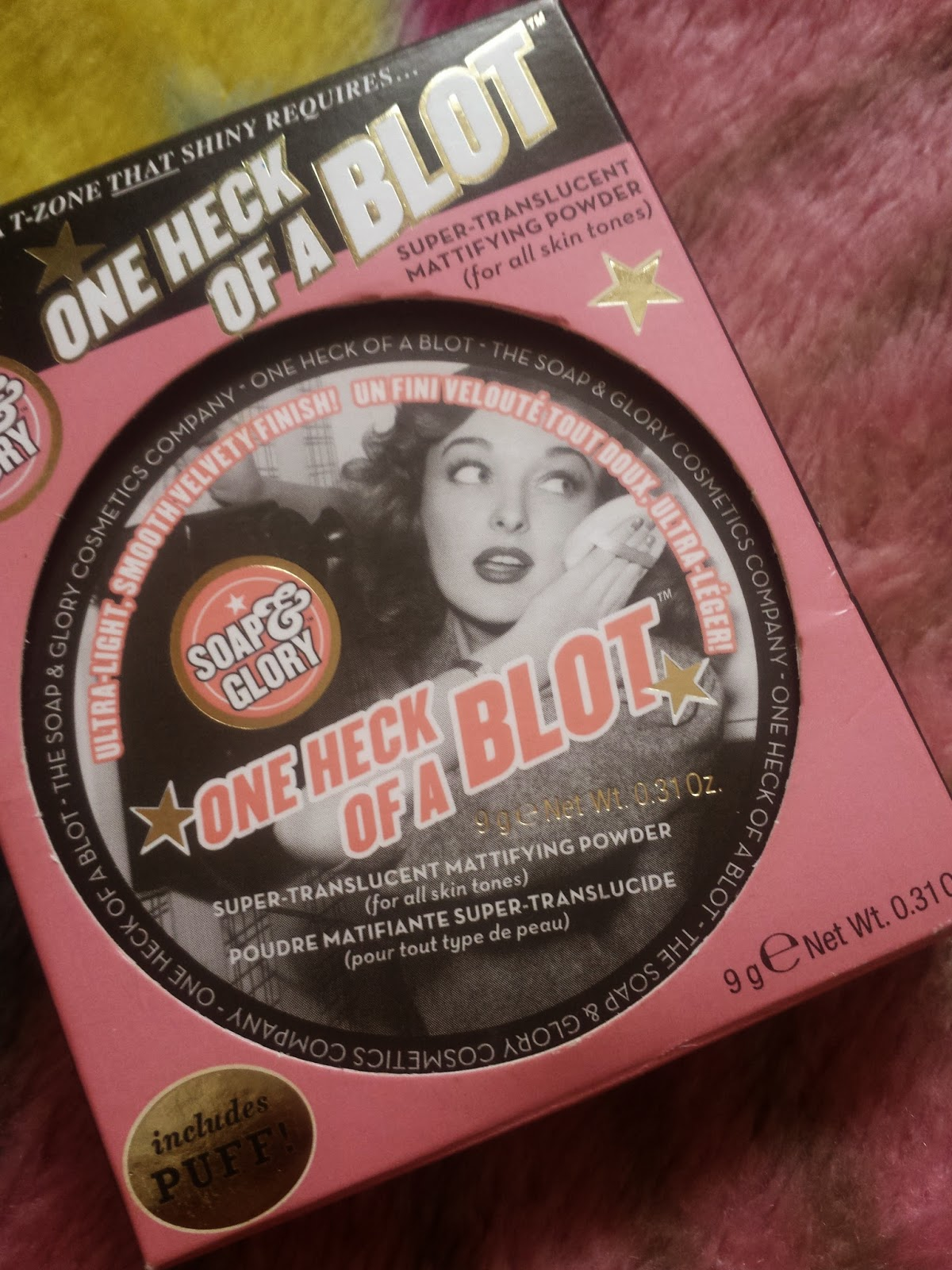 s&g one heck of a blot, s&g one heck of a blot review, soap and glory one heck of a blot, soap and glory one heck of a blot review