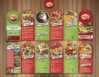 cetak brosur makanan barat