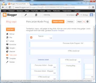 Membuat Google Custom Search pada Web atau Blog Tata Letak