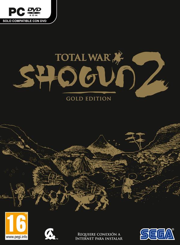 Total War: Shogun 2 - Gold Edition - Portada