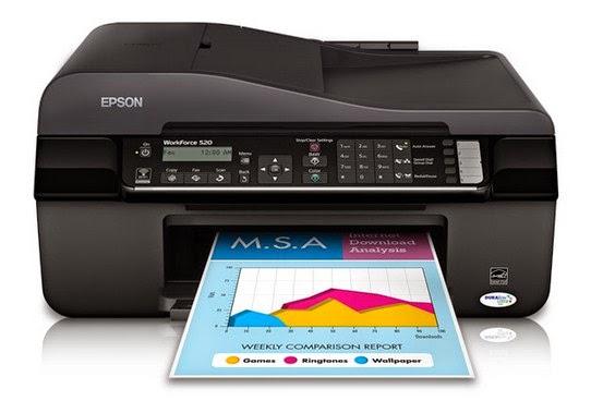 Epson WorkForce 520 Printer Drivers Download