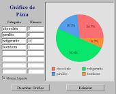 Manipulativo de gráfico de setores (pizza)